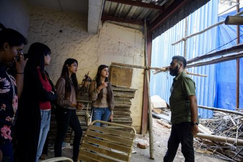 School of Fashion Company Visit With Sankara Sadasivam